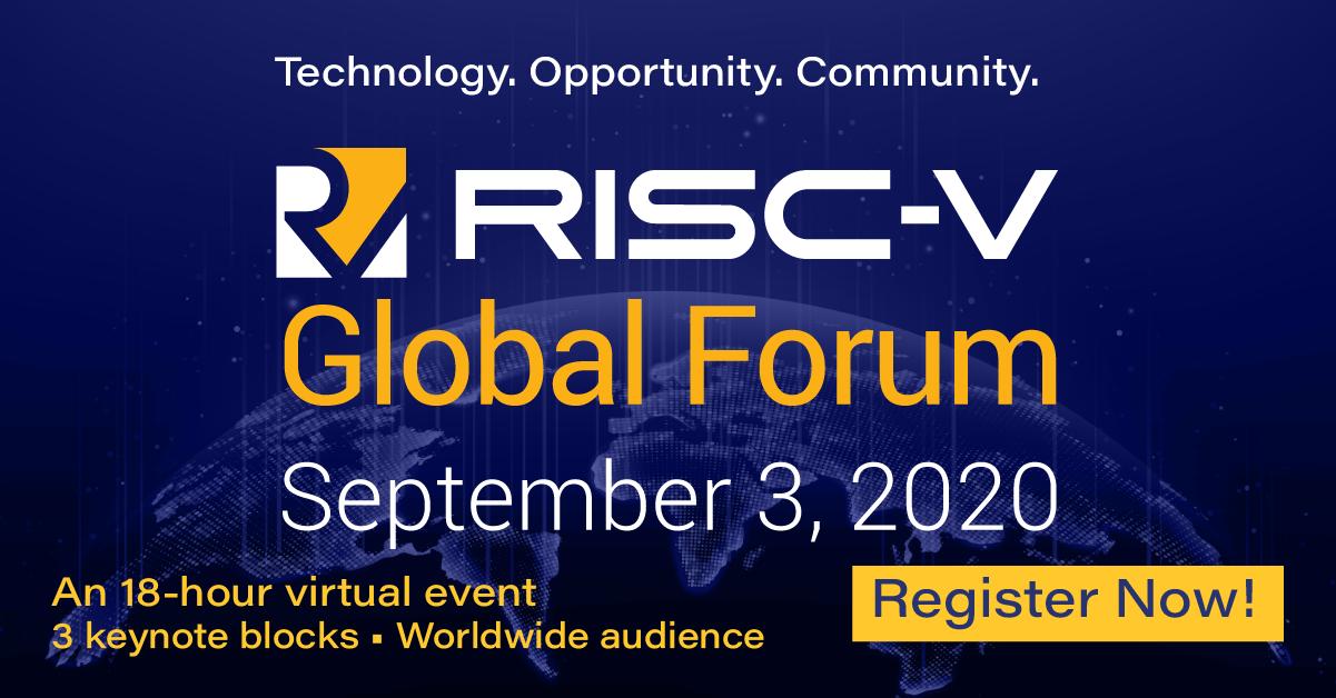 RISC-V Global Forum: Initiate. Innovate. Impact.