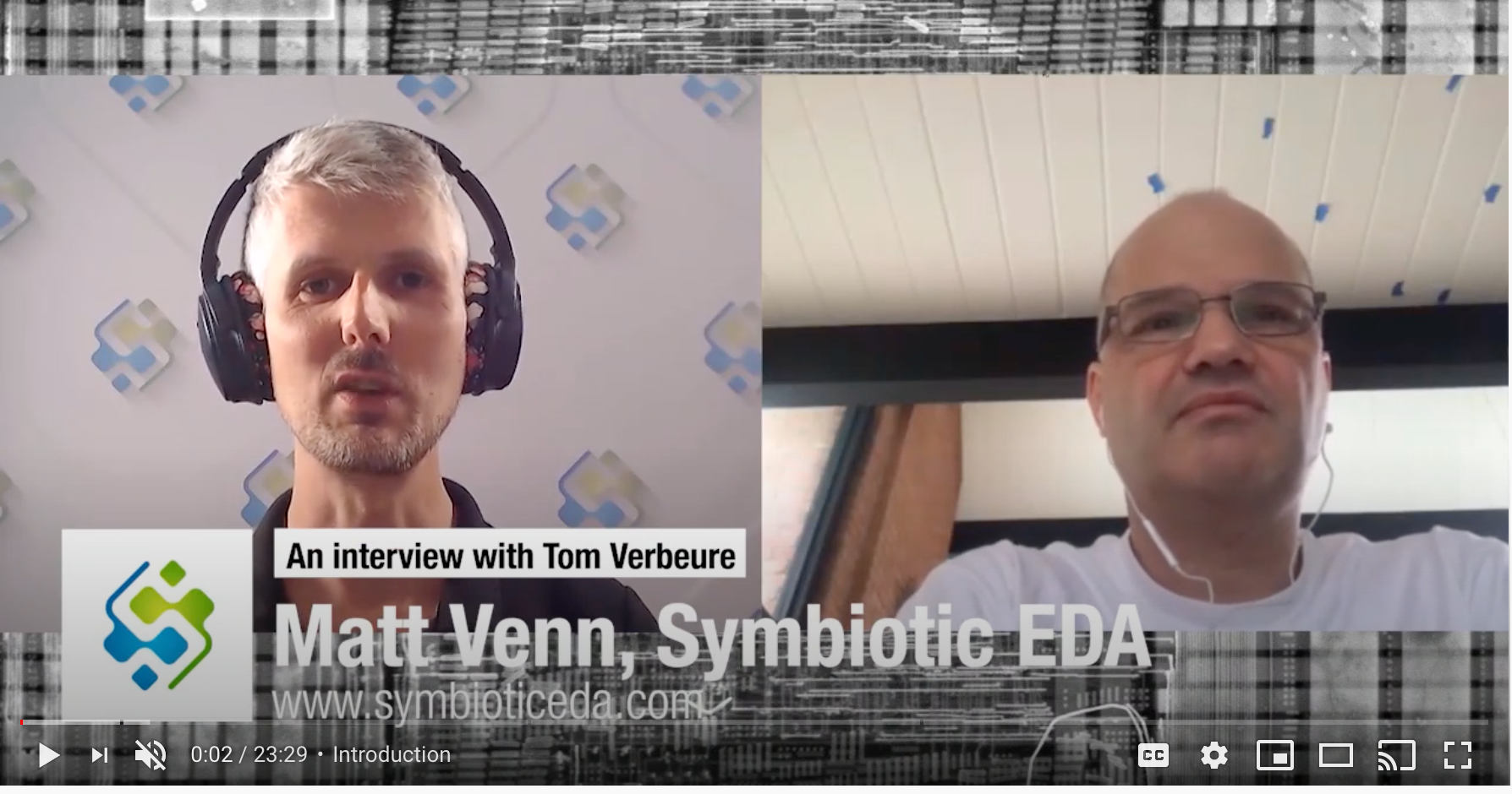 An Interview With Tom Verbeure: Phantom Packets, RISC-V, Under The Hood Of FV | Matt Venn, Symbiotic EDA (YouTube)