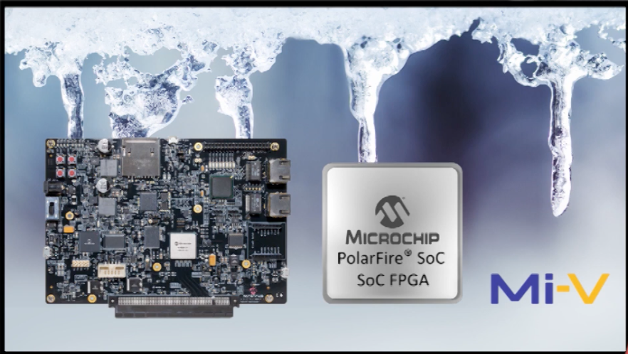 First Soc FPGA Development Kit With Hardened Risc-V Micro-Processor Subsystem | Microchip Technology (YouTube)