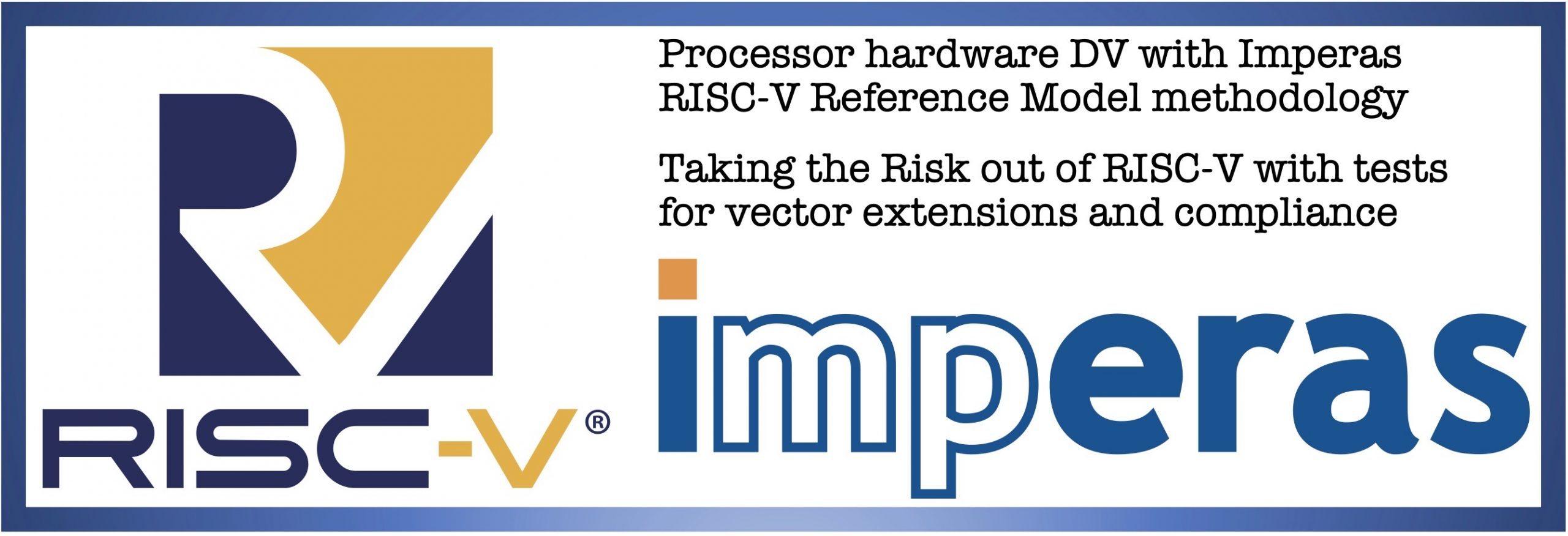 NSITEXE selects Imperas RISC-V and Vectors Reference Model