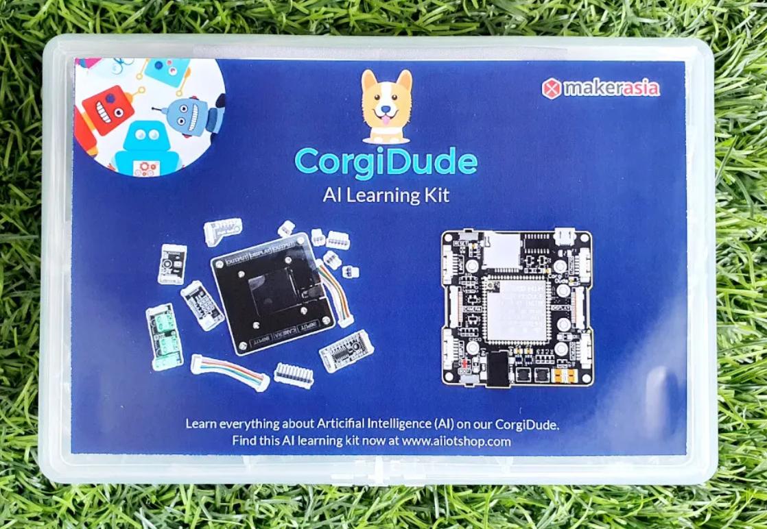 Made in Thailand CorgiDude RISC-V AI board aims to teach machine learning   Jean-Luc Aufranc (CNXSOFT)