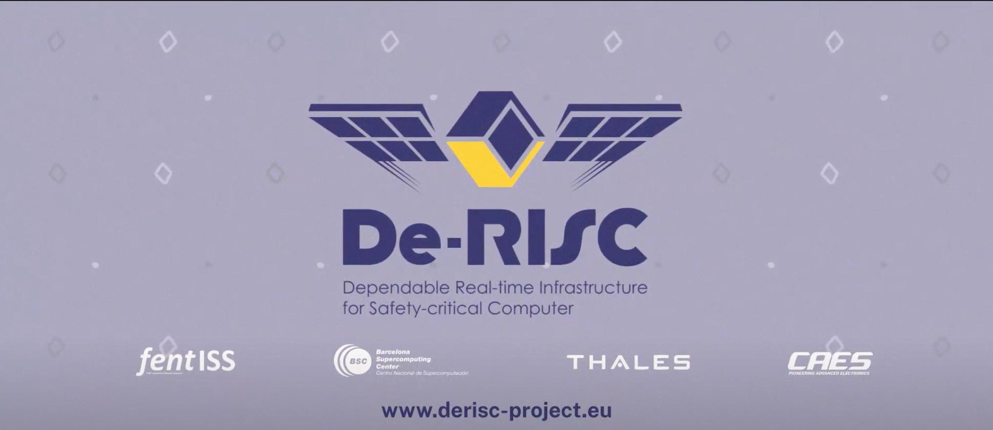 Video: De-RISC project