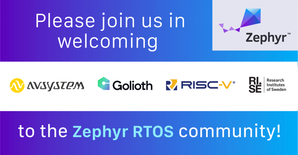 The Zephyr Project Celebrates 5th Anniversary with new members and inaugural Zephyr Developer Summit on June 8-10
